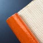 High Temperature Heat Flame Resistant Silicone Rubber Coated Fiberglass Cloth Fabric Fireblanket